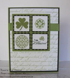 St. Pat's Day SC321 by Terri Chadwick - Cards and Paper Crafts at Splitcoaststampers