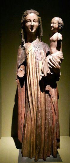 Madonna di Rouchovany, dell'abbazia cistercense di Zbraslav, fondata da Vinci Slug secondo nonno di Carlo IV sul modello di Saint Denis a Parigi fu completata poi da Elisabetta II di Boemia, madre di Carlo IV 1315 1325