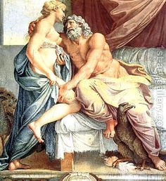 Greek Gods- Picture Gallery of Zeus. Zeus(Jupiter), the King of the Gods. Zeus, the Father of the Olympian gods, Ruler of mankind and dispenser of Good and Evil. Greek Gods And Goddesses, Greek And Roman Mythology, Classical Mythology, Caravaggio, Zeus Et Hera, Juno Goddess, Zeus Jupiter, Annibale Carracci, Theme Tattoo