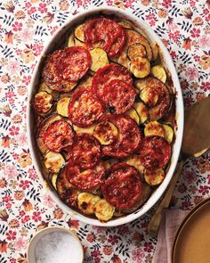 When it comes to radiating warmth at the dinner table, nothing beats a meal-in-one casserole. What's more, this dish can be assembled a day ahead, goes straight from the oven to the table, and offers help-yourself allure in abundance.