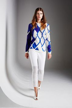 Pringle of Scotland Spring 2014 RTW Collection - Look 11 #PringleofScotland #Spring2014 #Collection