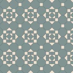 Olde English Hallington Geometric Floor Tiles