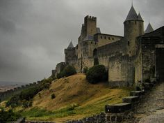 toutfrancais:  carcassonne by mara hoffman on Flickr.
