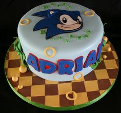 Sonic Cake  by creative and delicious sweets (Sandy), via Flickr