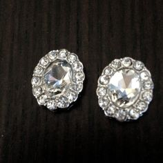 Buy Cute Rhinestone Round gauges plugs earrings by stephystrick9. Explore more products on http://stephystrick9.etsy.com