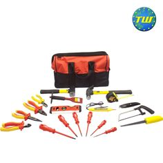 http://www.twwholesale.co.uk/product.php/section/9136/sn/Starter-Electrician-Tools 15 Piece Starter Electrician Tool Kit designed for apprenticeships, college students and new job starters. All of the tools in this set have been carefully selected by electrical installation tutors and trade electricians - ensuring that you have the right tool for the job from day 1 as you start out on your path as an electrician.