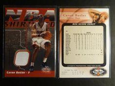 (9) 2002-03 Caron Butler Rookie Card RC Lot Jersey Jsy Fleer #/299 #/250 SP GU