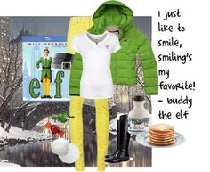 """Christmas Characters: Buddy the Elf"" by erintmclaughlin on Polyvore"