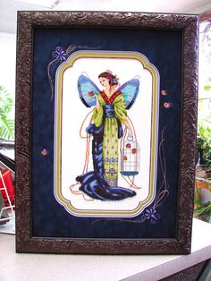 Rensel Studio : September Sapphire Fairy