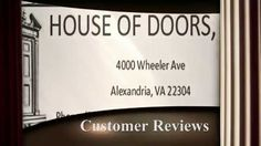 House of Doors - Alexandria, VA customer reviews
