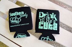 Southern Jewlz Online Store - Drink Til He's Cute Koozie, (http://www.southernjewlz.com/drink-til-hes-cute-koozie/)