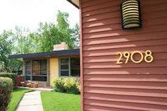 An idea for outdoor light mid century modern house - Google Search