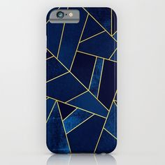 Buy Blue stone with gold lines by Elisabeth Fredriksson as a high quality iPhone & iPod Case. Worldwide shipping available at Society6.com. Just one of millions of products available.