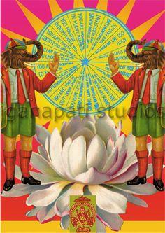 Ganapati Studios - Double Ganesh greeting card