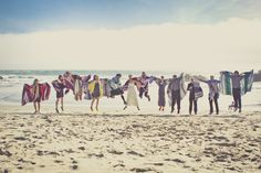 Jumping photo of our bridal party