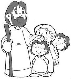 Imgenes De Jess Para Colorear Dibujos De Jesus Para Colorear Para