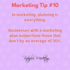 Planning is a must in marketing. Scattered delivery churns through time & money quickly. #marketing #marketingplan #businessplanning #marketingstrategy #marketingtips #tw