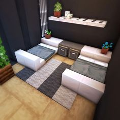 Modern Minecraft Houses, Minecraft House Plans, Minecraft Mansion, Minecraft Cottage, Minecraft House Tutorials, Minecraft Room, Minecraft House Designs, Minecraft Architecture, Minecraft Creations
