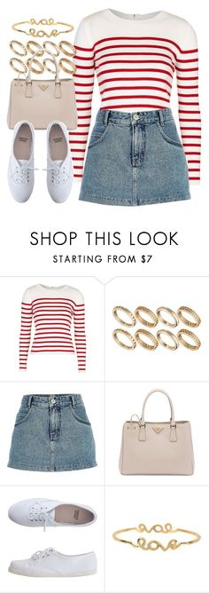 Look #700 by foreverdreamt on Polyvore featuring Topshop, River Island, American Apparel, Prada, ASOS and Armitage Avenue