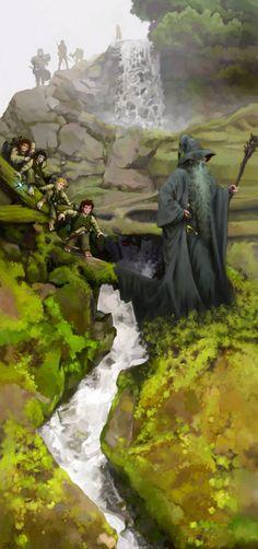The Fellowship, Uglyheroes aka Jay Beard on ArtStation at https://www.artstation.com/artwork/xYeO1