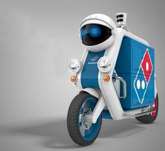Domino's Driverless (PIZZA) Delivery Vehicle