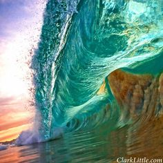 Morning Wave of Hawaii 12th June 2013 Image Credit : Clark Little Photography. His photos are amazingly breathtaking :-)