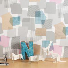collage wallpaper by Tres Tintas Barcelona