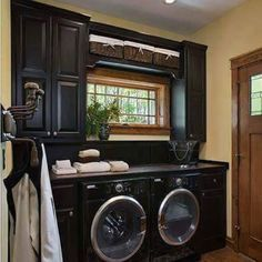 Tyron Mcdaniel on Instagram: I think I'm going to try this utility room in the kitchen set up...