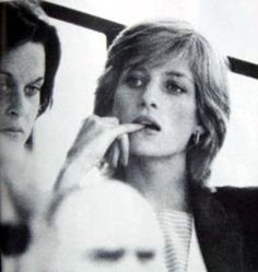 Diana with former flatmate Ann Bolton