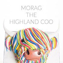 Learn how to make this eye-catchingly colourful highland cow cake with the multi-award winning Paul Bradford. Inspired by the artists Steven Brown's McCoo painting, this incredible cake is sure to stun anyone who sees it. Cow Food, Scottish Cow, Farm Animal Cakes, Cow Cakes, Cake Decorating Courses, 21st Cake, Ballerina Cakes, Cake Shapes, Cakes For Women