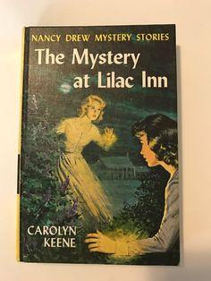 Nancy Drew Mystery Stories The Mystery at Lilac Inn 4 by Carolyn Keene 1961 HC | eBay