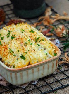 Shepherds Pie:  Comfort Food.  IRELAND.
