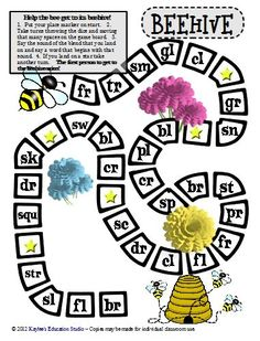 Lots of game boards for initial consonants, initial consonant blends, and more!  Oh Yea, they're free!