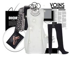 """Yoins 27"" by fashion-addict35 ❤ liked on Polyvore featuring Christian Dior, Monki, Stila, women's clothing, women, female, woman, misses and juniors"