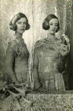 Nancy & Baba Beaton by Cecil Beaton 1925