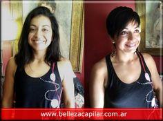 Una opcion bastante practica en lo que es tendencia en cortes y peinados para mujeres. Christian Diaz by. BELLEZA CAPILAR www.bellezacapilar.com.ar Tel. (011)153-052-6190