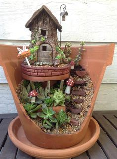 Harmony Hollows Garden Decor - Fairy Houses and More! | GALLERY www.harmonyhollows.com