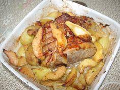 Recette de Rôti d'automne de porc aux coings