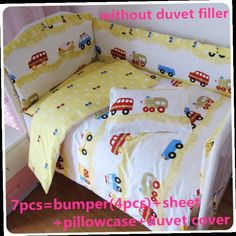 42.80$  Buy now - http://alihkh.worldwells.pw/go.php?t=32526095817 - Discount! 6/7pcs Baby Cot Bedding Sets,Infant Bedding Set Baby Crib Set ,120*60/120*70cm 42.80$