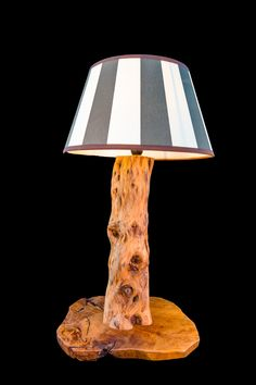 Table Lamp, Lighting, Home Decor, Light Fixtures, Timber Wood, Homemade Home Decor, Table Lamps, Lights, Interior Design