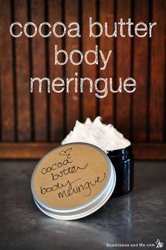 Cocoa Butter Body Meringue