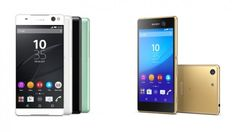 If you missed, the #NewSmartphones sony xperia c5 ultra m5 are for selfie obsessed customers'