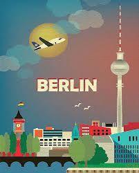 travel poster berlin - Google-Suche