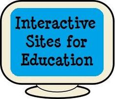 online, interactive, educational games and simulations in one place! These activities work great with your SMARTboard or interactive whiteboard for whole group or small group instruction or use in the computer lab or at home for individual learning. Interactive Websites, Interactive Whiteboard, Interactive Learning, Educational Websites, Educational Technology, Tech Websites, School Websites, Learning Sites, Teaching Resources