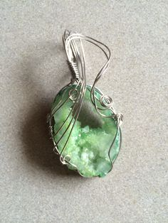 Druzy pendant, RHY Collection.