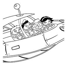 little einstein city coloring pages - photo#9