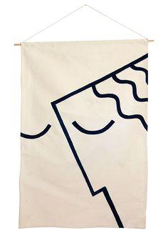 Athenian Face Banner / Raphael Greaves