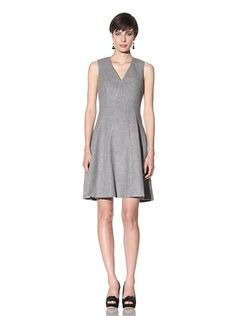 ADAM by Adam Lippes  Center Point Seamed Tank Dress $395    Soft medium-weight wool, front and back converging seaming detail, V-neck, sleeveless, hidden side zipper, fully lined  Fabric: 75% Lambswool/25% Angora  Lining: 100% Silk