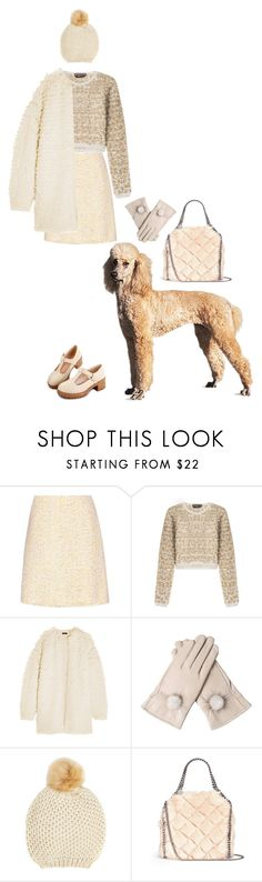 """Poodle"" by rachael-aislynn ❤ liked on Polyvore featuring Giambattista Valli, Rochas, J.Crew, John Lewis and STELLA McCARTNEY"