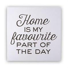 """Home Is My Favourite Art Print – 12"""" x 12"""""""